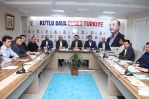 Başkan Hasan Can, AK Parti Ümraniye Gençlik Kolları Yönetim Kurulu Toplantısına Katıldı