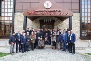 Başkan Hasan Can 10 Ocak Çalışan Gazeteciler Günü Münasebetiyle Yerel Medya Mensupları İle Bir Araya Geldi