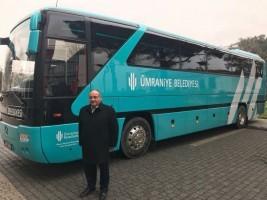 Ümraniye Belediyesinin Otobüslerinin Yeni Rengi Turkuaz ve Beyaz Oldu!