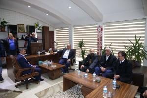 Başkan Hasan Can'dan Kadosan Sanayi Sitesi Yeni Yönetimine Ziyaret