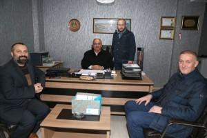 Başkan Hasan Can'dan Kızılay Ümraniye Şube Başkanı Ali Şentürk'e Ziyaret