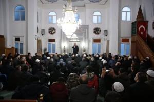 Başkan Hasan Can Bu Hafta da Aşağı Dudullu Cami Cemaatiyle Bir Araya Geldi