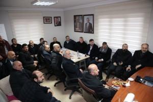 Başkan Hasan Can, Aşağı Dudullu Mahalle Muhtarlığı'nı Ziyaret Etti