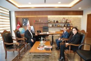 Ümraniye İSKİ Şube Müdürü Battal Kamiloğlu'ndan Başkan Hasan Can'a Ziyaret