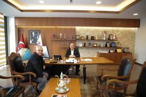 15 Temmuz Gazisi Kemal Uyar'dan Başkan Hasan Can'a Ziyaret