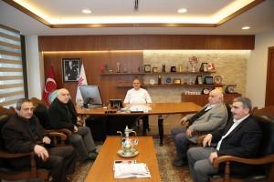 Çemişgezek Cihangir Köyü Derneği'nden Başkan Hasan Can'a Ziyaret