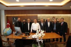 Başkan Hasan Can, Sivas-Gölova Karayakup Köyü Derneği'ni Ağırladı
