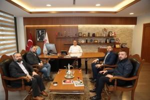 İstanbul Alperen Ocakları Başkanı Kürşat Mican'dan Başkan Hasan Can'a Ziyaret
