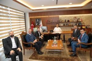 HUAWEİ Türkiye Ofisi'nden Başkan Hasan Can'a Ziyaret