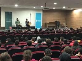 Kültür Sanat Okulda Başlar Programının Konukları Selçuk Eraslan ve Tanbûrî Hasan Kiriş Oldu