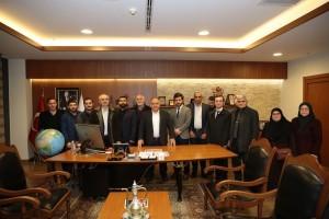 Altınşehir Mahalle Teşkilatından Başkan Hasan Can'a Ziyaret