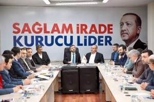 Başkan Hasan Can, AK Parti Ataşehir İlçe Teşkilatı Yönetim Kurulu Toplantısına Katıldı