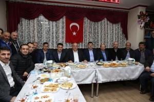 Başkan Hasan Can Gümüşhane Kaletaş Köyü Derneği'nin Kalandar Gecesine Katıldı