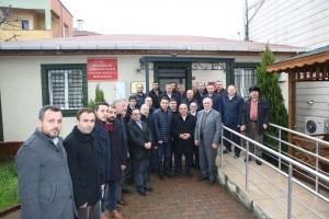 Başkan Hasan Can, Çakmak Mahalle Muhtarlığını Ziyaret Etti