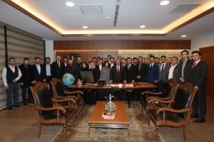 Başkan Hasan Can, AK Parti Ümraniye İlçe Gençlik Kolları Başkanı Vehbi Ayvat ve Yönetimi'ni Ağırladı