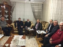 Başkan Hasan Can, Esenevler Mahalle Muhtarı Dursun Yılmaz'ı Ziyaret Etti