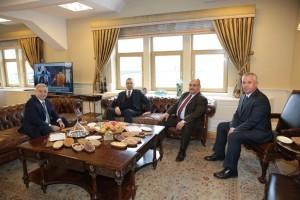 Başkan Hasan Can'dan İstanbul Ticaret Odası Yönetim Kurulu Yeni Başkanı Öztürk Oran'a Ziyaret
