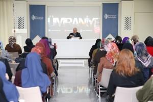 Akademi Nisa'nın Bu Haftaki Konuğu Prof. Dr. Ömer Faruk Harman'dı