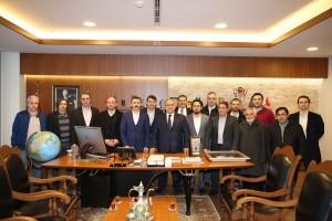 AK Parti Madenler Mahalle Teşkilatından Başkan Hasan Can'a Ziyaret