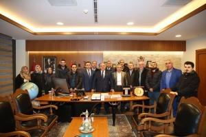 Başkan Hasan Can, AK Parti Tepeüstü Mahalle Teşkilatını Ağırladı