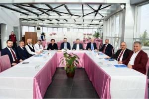 Anadolu Yakası Belediye Başkanları Tuzla'da Buluştu