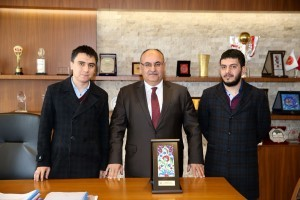 TÜGVA İl Temsilcisi Fatih Coşar'dan Başkan Hasan Can'a Ziyaret