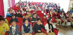 Tarihçi Kadir Murat Öztürk Öğrencilerle Ümraniye'de Bir Araya Geldi