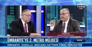 Başkan Hasan Can Habertürk TV'nin Canlı Yayın Konuğu Oldu