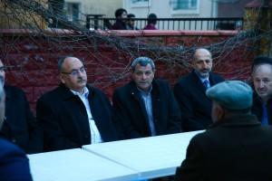 Başkan Hasan Can Parseller Mahalle Başkanı Adil Çerkez'e Taziye Ziyaretinde Bulundu