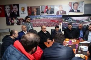 Başkan Hasan Can, AK Parti Ümraniye Namık Kemal Mahalle Teşkilatında Gençlerle Bir Araya Geldi
