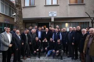 Başkan Hasan Can, Sabah Namazı Buluşmalarında Yamanevler Mustafa Yaman Camii Cemaatiyle Bir Araya Geldi
