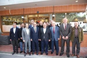 Başkan Hasan Can Ümraniye Marangozlar Esnaf ve Sanatkârlar Odası'nın Genel Kurul Kahvaltı Programına Katıldı