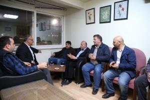 Başkan Hasan Can, Ümraniye Belediye Meclis Üyesi Ali Yazlı'ya Taziye Ziyaretinde Bulundu