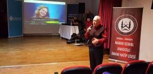 Tiyatrocu Hüseyin Goncagül Öğrencilerle Ümraniye'de Bir Araya Geldi