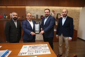 Mirasımız Derneği'nden Başkan Hasan Can'a Ziyaret