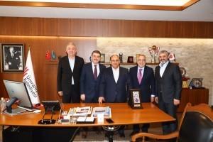 Yeşil Vadi Site Yönetimi'nden Başkan Hasan Can'a Ziyaret