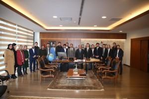 Ümraniye Kent Konseyi Gençlik Meclisi Başkanından Başkan Hasan Can'a Ziyaret