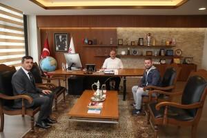 15 Temmuz Gazisi Osman Dönmez'den Başkan Hasan Can'a Ziyaret