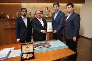 Kudüs ve Tarihimiz Derneği Yönetiminden Başkan Hasan Can'a Ziyaret