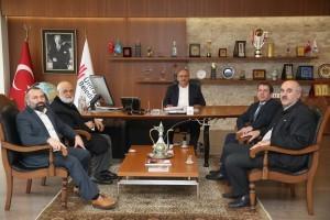 Mustafa Ağa Cami Derneği'nden Başkan Hasan Can'a Ziyaret