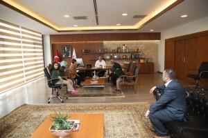 Hasan Tahsin İlkokulundan Başkan Hasan Can'a Ziyaret