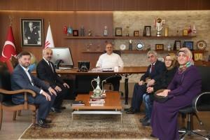 Şehit Köksal Karmil İmam Hatip Ortaokulu'ndan Başkan Hasan Can'a Ziyaret