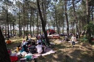 Ümraniye Mesire Alanı Piknik Sezonuna Merhaba Dedi