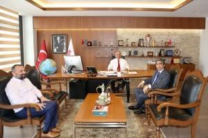 Ümraniye İlçe Emniyet Eski Müdürü Hüseyin Göllüce'den Başkan Hasan Can'a Ziyaret
