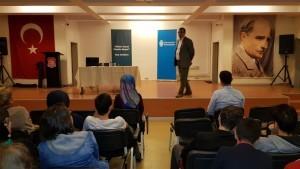 Gazeteci- Yazar Ali Murat Güven Ümraniyeli Öğrencilerle Buluştu