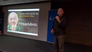 Mehmet Akif İmam Hatip Ortaokulu Öğrencileri Tiyatrocu Hüseyin Goncagül ile Buluştu