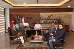 Ümraniye Selçuk Ecza 50. Yıl Ortaokul Müdürü'nden Başkan Hasan Can'a Ziyaret