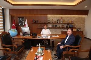 AK Parti Üsküdar Eski İlçe Başkanı Zekeriya Erdim'den Başkan Hasan Can'a Ziyaret
