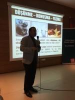 Araştırmacı-Yazar Yusuf Tosun Öğrencilerle Ümraniye'de Buluştu