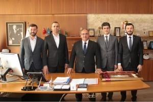 AK Parti Ataşehir Yeni İlçe Başkanı Ahmet Özcan'dan Başkan Hasan Can'a Ziyaret